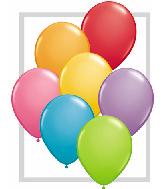 "5""  Qualatex Latex Balloons  FESTIVE ASSORT    100CT"