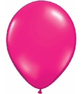 "5""  Qualatex Latex Balloons  JEWEL MAGENTA  100CT"