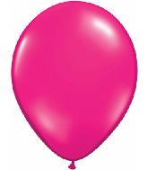 "9""  Qualatex Latex Balloons  JEWEL MAGENTA  100CT"