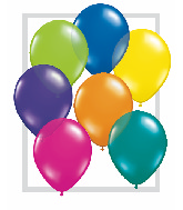"16""  Qualatex Latex Balloons  FANTASY ASSORT     50CT"