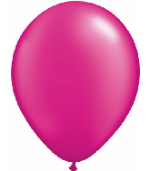 "5""  Qualatex Latex Balloons  Pearl MAGENTA    100CT"
