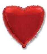 """32"""" Metallic Red Jumbo Heart"""