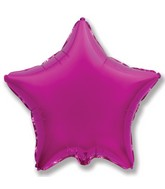 "4"" Airfill Only Magenta Star"