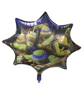 "28"" Jumbo Teenage Mutant Ninja Turtles-Bulk"