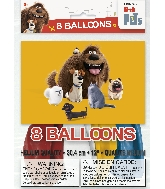 "12"" 8 Count Latex Balloons - The Secret Life of Pets"