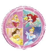 "18"" Foil Balloon - Princess Dream Big"