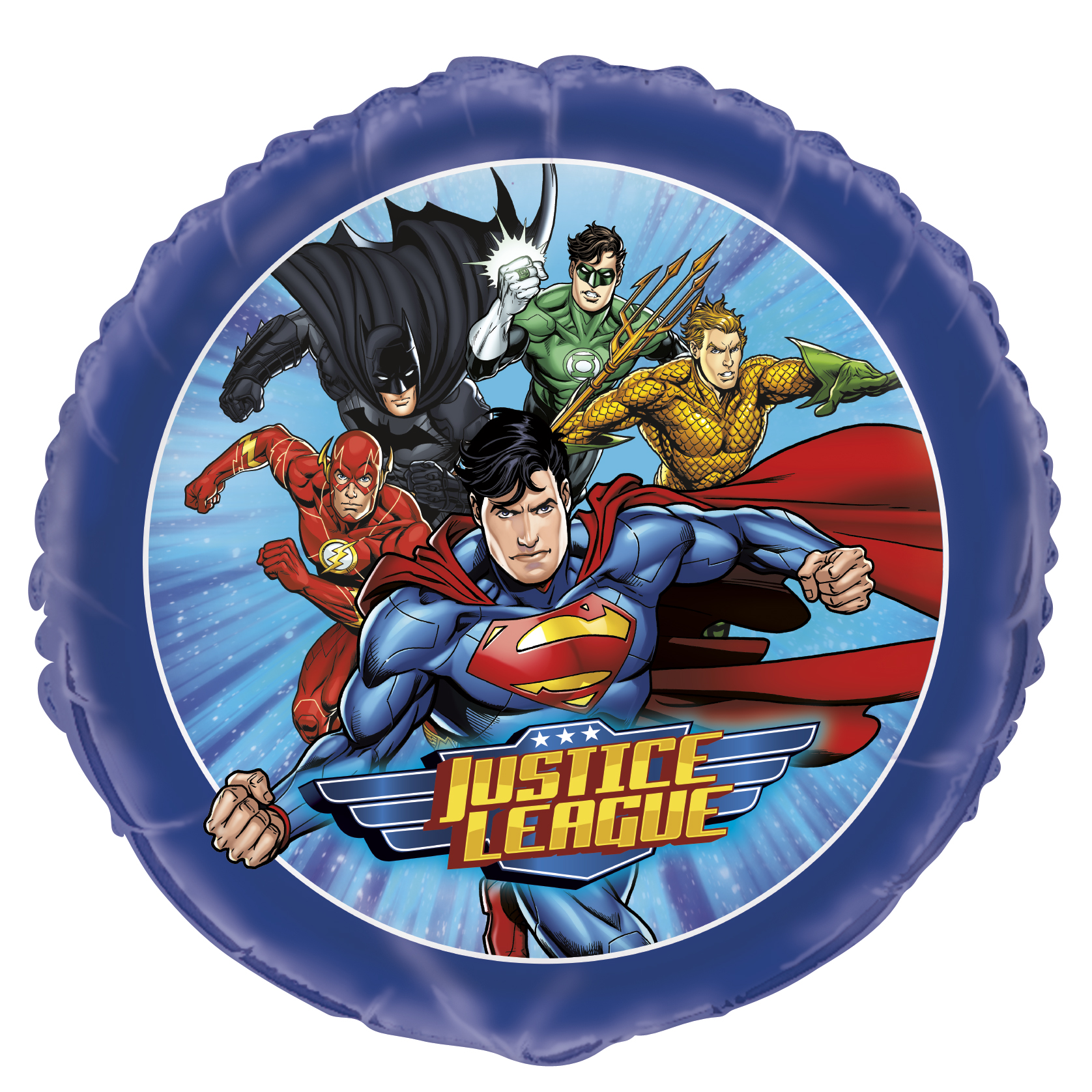"""18"""" Justice League Foil Balloon Packaged"""