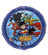"18"" Justice League Foil Balloon Packaged"