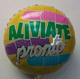 "18"" Aliviate Pronto Balloon (Damaged Print)"