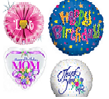 """100 Assorted 18"""" Balloons Packaged (Clearance)"""