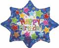 "32"" Large Shape Happy Birthday Explosion Balloon"