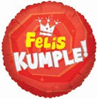 "18"" Felis Kumple Corona Balloon"