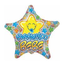 "22"" Mc Estrella Bebe Azul Holographic"