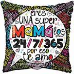 """18"""" Una Super Mamá Balloon"""