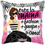 """18"""" Balloon La Mamá + Fashion"""