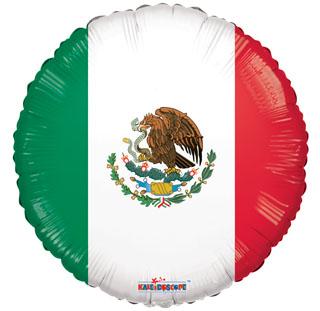 """18"""" Mexico Flag Balloon"""