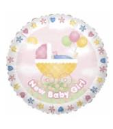 """36"""" Jumbo New Baby Girl Stroller"""