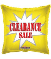 "18"" Clearance Balloon Starburst"