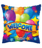 "18"" Welcome Festive Balloons"