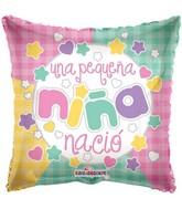 "18"" Una Pequena Nina Nacio Balloon"