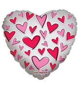"""18"""" Decorative Love Clear View"""