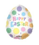 "18"" Easter Egg Dots Balloon"