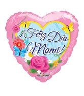 "18"" Feliz Dia De Las Madres Spanish Balloon"