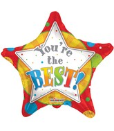 """18""""  You Are The Best Star Shape Balloon"""