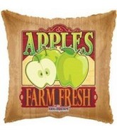 "18"" Farm Fresh Green Apple Fruit Balloon"