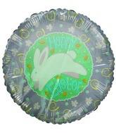 "18"" Happy Easter Rabbit Easter ornaments purple balloon"