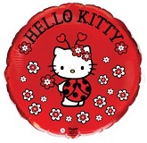 "18"" Hello Kitty Ladybug Balloon"