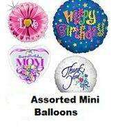 """100 Assorted 2-14"""" Airfill Balloons (Clearance)"""