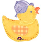 Large Shape Hugs Stitches Duck Balloon