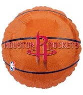 "18"" NBA Houston Rockets Basketball"
