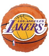 "18"" NBA LA Lakers Basketball Balloon"