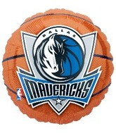 "18"" NBA Dallas Mavericks Basketball"