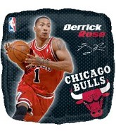 "18"" NBA Derrick Rose Basketball Balloon"
