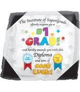 "18"" Supershape #1 Grad Diploma"