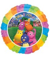 "18"" The Backyardigans Birthday Balloon"