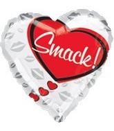 "18"" Love Smack! Balloon"