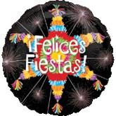 "18"" Felices Fiesta Pinata Balloon"