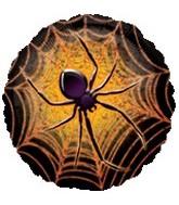 """18"""" Halloween Prismatic Spider Balloon"""