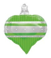 "18"" Green Ornament Balloon"