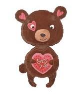 "29"" Yours Truly Love Bear Jumbo"