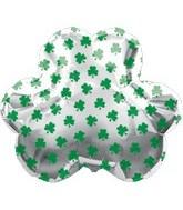 """26"""" St Patricks Day Jumbo Clover Balloon"""
