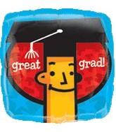 """18"""" Great Grad Balloon"""