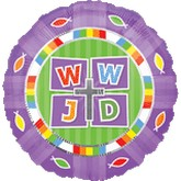 "18"" WWJD (What Would Jesus Do) Balloon"