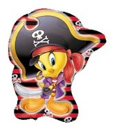 "28"" Looney Tunes Tweety Pirate"
