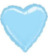 """32"""" Large Balloon Pastel Blue Heart"""