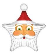 """29"""" Santa Star Face"""